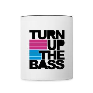 the bass mug - Contrasting Mug