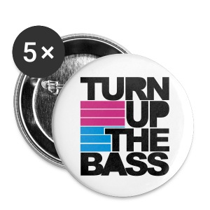 The bass badges - Buttons large 56 mm