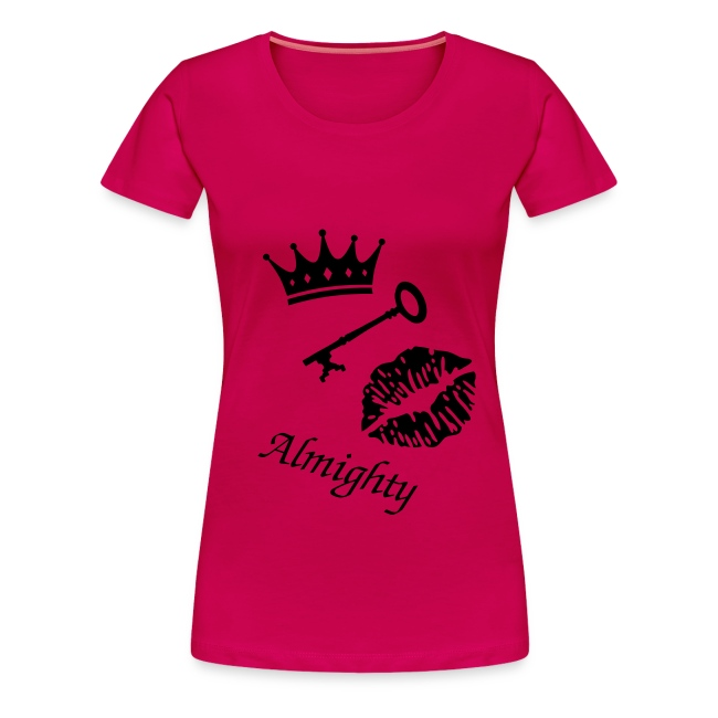 "T-shirt female ""Almighty"""