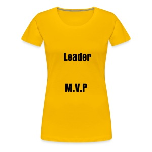 T-shirt female Leader, M.V.P... - Women's Premium T-Shirt