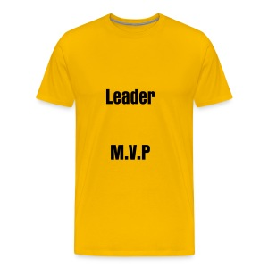 T-shirt male Leader, M.V.P... - Men's Premium T-Shirt