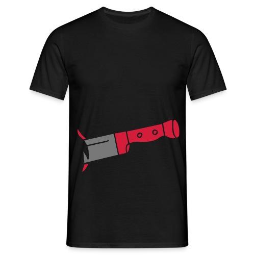 Messer - Männer T-Shirt