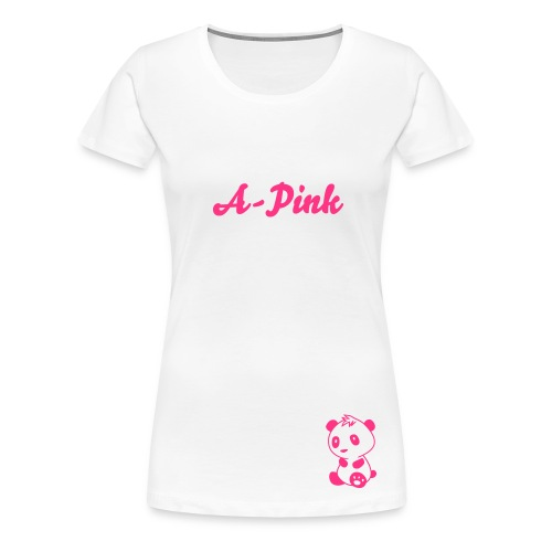 T-shirt female A-Pink - Women's Premium T-Shirt