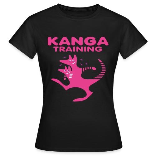Standard T-Shirt Kangatraining.de - T-shirt Femme