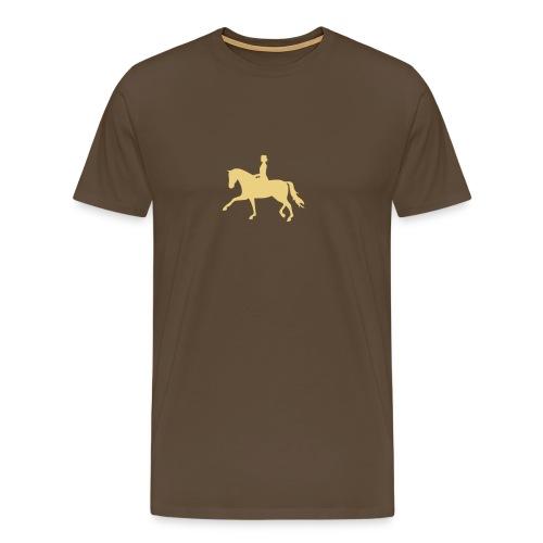 Dressurpferd - Männer Premium T-Shirt
