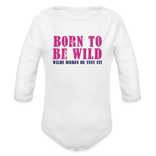 Baby rompertje - Baby bio-rompertje met lange mouwen