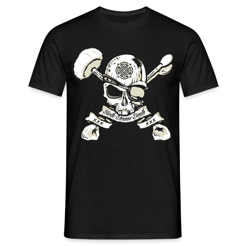 Birth - Drums - Death  Guyz - Men's T-Shirt