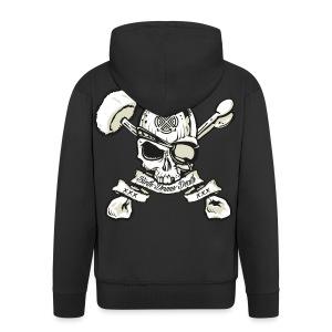 Birth - Drums - Death  Zip Hoodie - Men's Premium Hooded Jacket