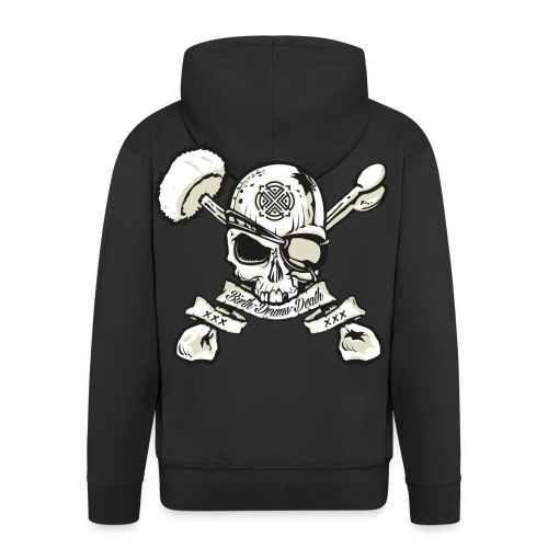 Birth - Drums - Death  Zip Hoodie - Men's Premium Hooded Jacket