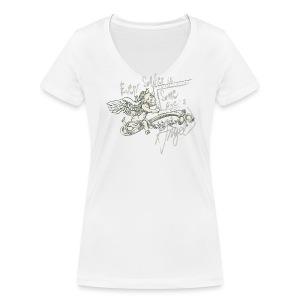 Every soldier… (oliv) - Frauen Bio-T-Shirt mit V-Ausschnitt von Stanley & Stella
