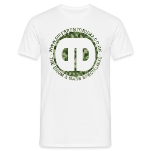 DDz Logo Camo - Men's T-Shirt