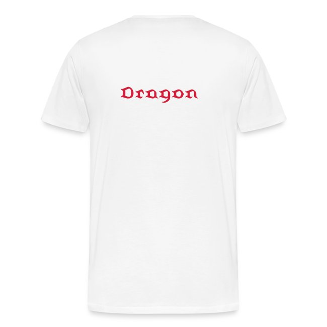 "T-shirt male ""G-Dragon - The Fire breathing One"""