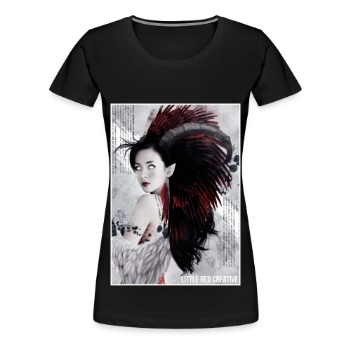 Feather Queen Ladies Tshirt - Women's Premium T-Shirt
