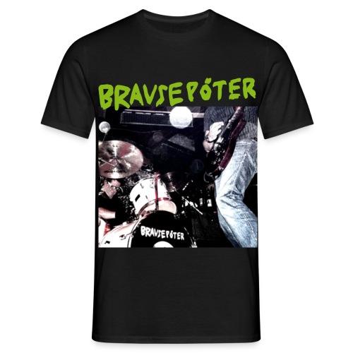 Brausepöter grüne Schrift - Männer T-Shirt