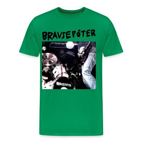 Brausepöter schwarze Schrift - Männer Premium T-Shirt