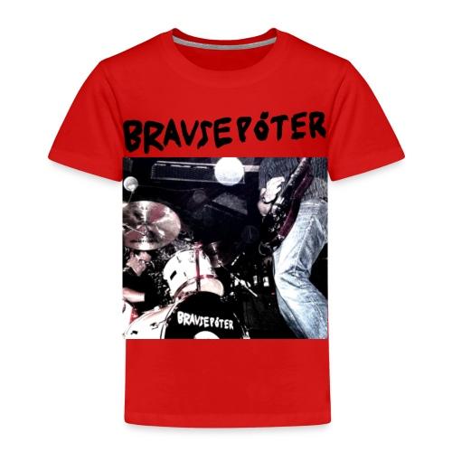 Brausepöter schwarze Schrift - Kinder Premium T-Shirt