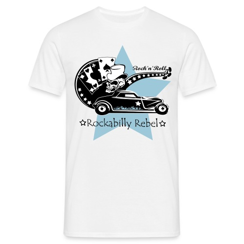 Rockabilly Rebel - Boys - Männer T-Shirt