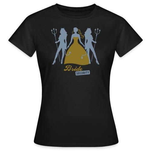 Bride Security - Girls - Frauen T-Shirt