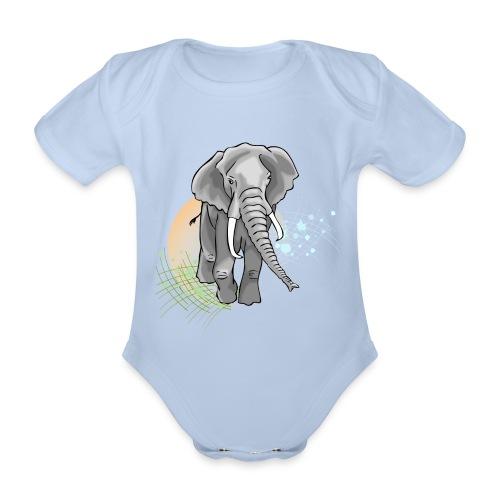 En marche - Body bébé bio manches courtes