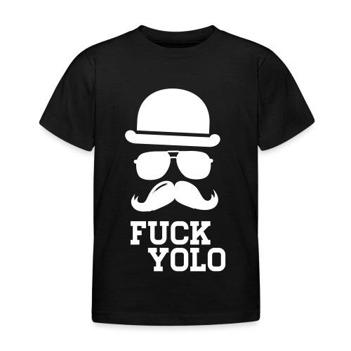F*CK Y*LO - Kids Shirt - Kinder T-Shirt