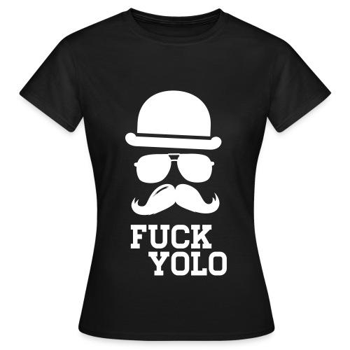 F*CK Y*LO - Lady Shirt - Frauen T-Shirt