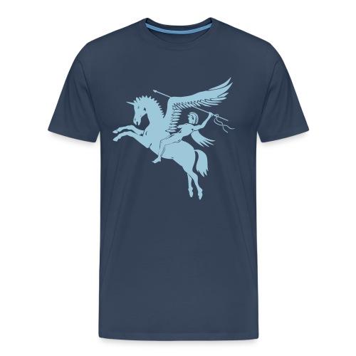 Unicorn Warrior Tshirt - Männer Premium T-Shirt