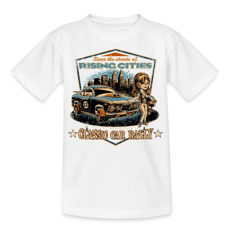 Classic Car Rally Event - Kinder T-Shirt