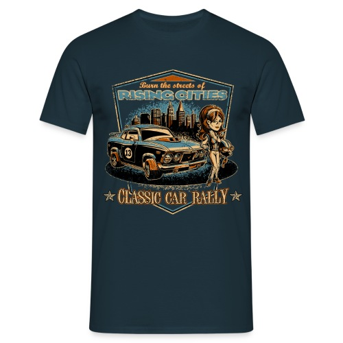 Classic Car Rally Event - Männer T-Shirt