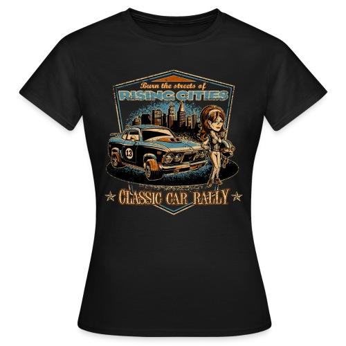 Classic Car Rally Event - Frauen T-Shirt