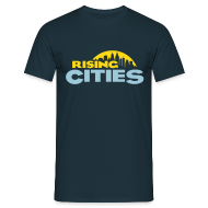 T-Shirts ~ Männer T-Shirt ~ Rising Cities Logo stylized