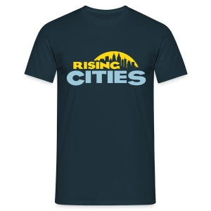 Rising Cities Logo stylized - Männer T-Shirt