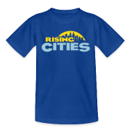 T-Shirts ~ Kinder T-Shirt ~ Rising Cities Logo stylized
