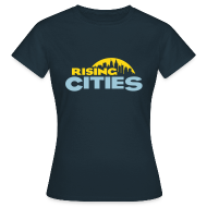 T-Shirts ~ Frauen T-Shirt ~ Rising Cities Logo stylized