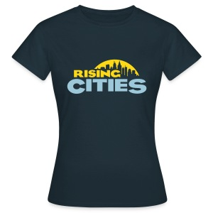 Rising Cities Logo stylized - Frauen T-Shirt