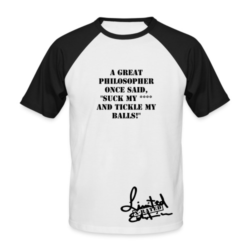 Great Philosophy - Men's Baseball T-Shirt
