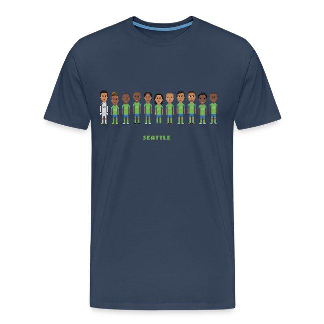 Men T-Shirt - Seattle Soccer