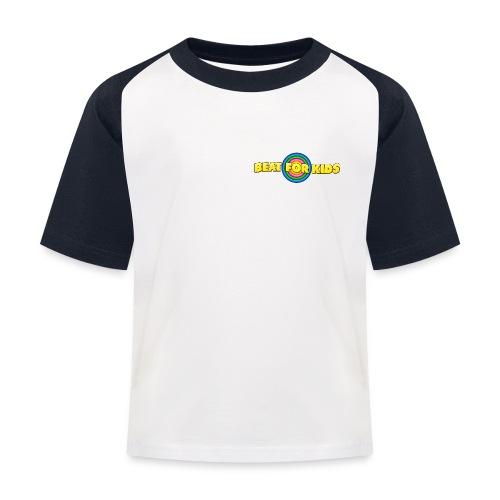 Kinder Shirt 2 farbig, Front Druck - Kinder Baseball T-Shirt