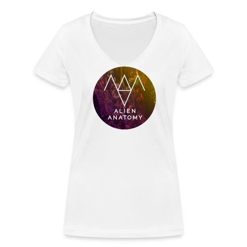 T-shirt Frauen  - Frauen Bio-T-Shirt mit V-Ausschnitt von Stanley & Stella