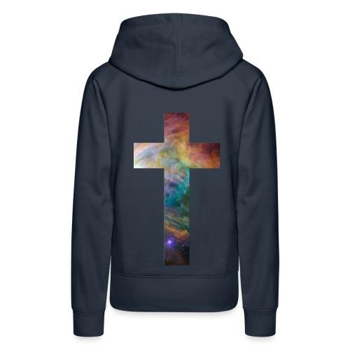 galaxy cross hoodie - Women's Premium Hoodie