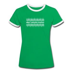 Christmas Jumper - Women's Ringer T-Shirt
