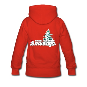 Merry Christmas Bawbags - Women's Premium Hoodie