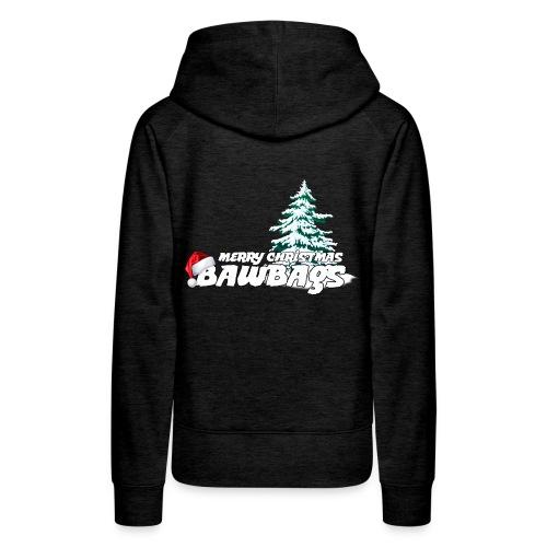 Merry Christmas Bawbags - Women's Premium Hoodie