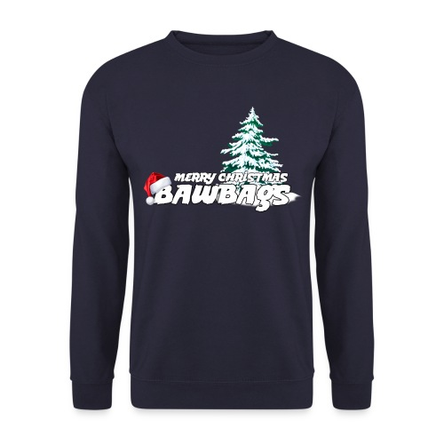 Merry Christmas Bawbags - Men's Sweatshirt