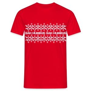 Bah Humbug - Men's T-Shirt