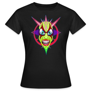 green spikes monster - T-shirt Femme
