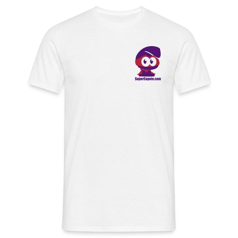 supercapotetete3colorscorps - T-shirt Homme