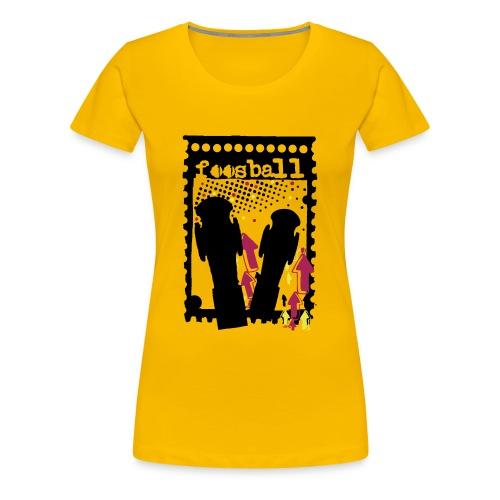 Foosball - Naisten premium t-paita