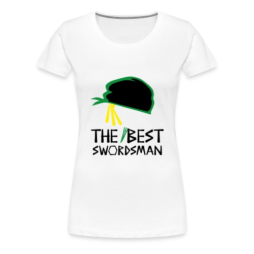 The Best Swordsman Roronoa Zoro - Frauen Premium T-Shirt