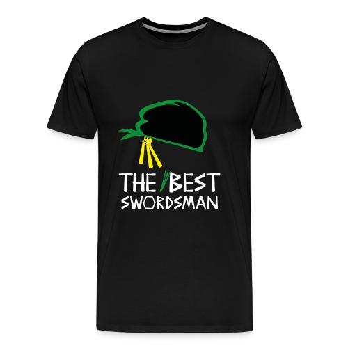 The Best Swordsman Roronoa Zoro - Männer Premium T-Shirt