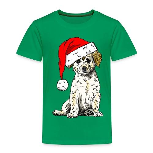 Christmas Doggy Kid's Tee - Kids' Premium T-Shirt